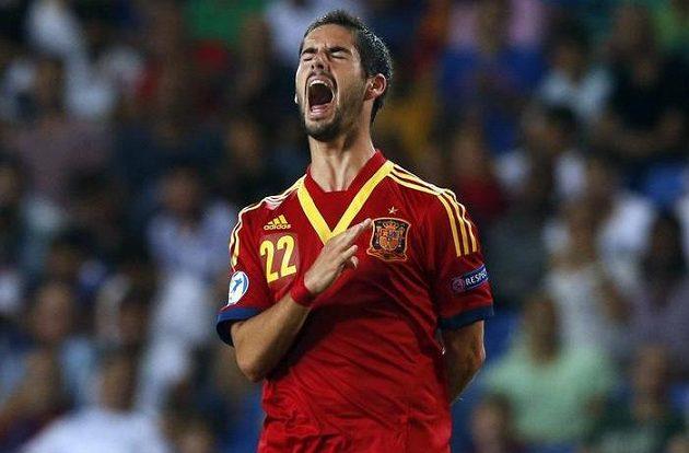 Isco v reprezentačním dresu Španělska do 21 let. Talentovaný hráč by měl brzy podepsat smlouvu s Realem Madrid.