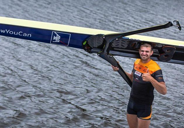 Úspěšný skifař Ondřej Synek.