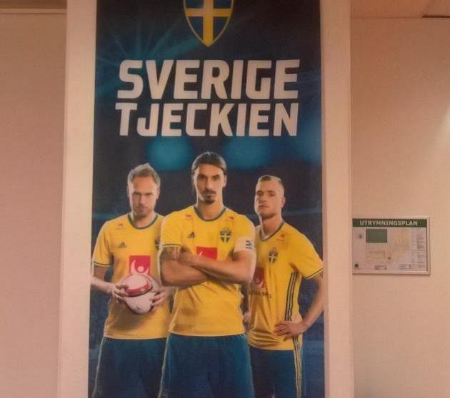 Zlatan je pro Švédy hlavním tahákem na duel s Čechy.