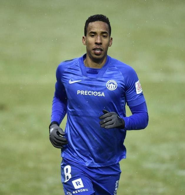 Fotbalista Jhon Mosquera z Liberce.