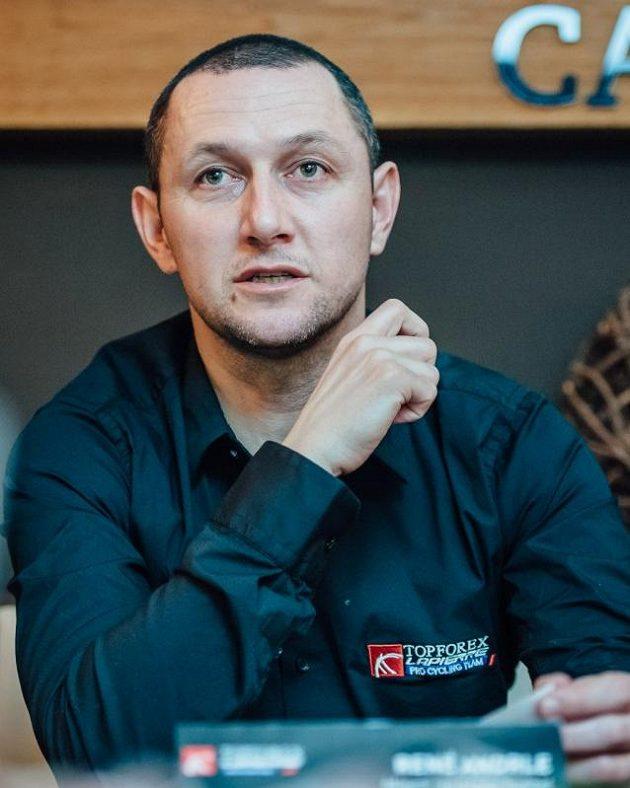 René Andrle, nový hlavní sportovní ředitel týmu Topforex Lapierre.