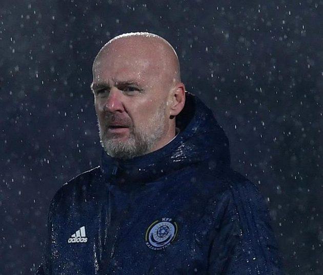 Michal Bílek, český trenér Kazachstánu.