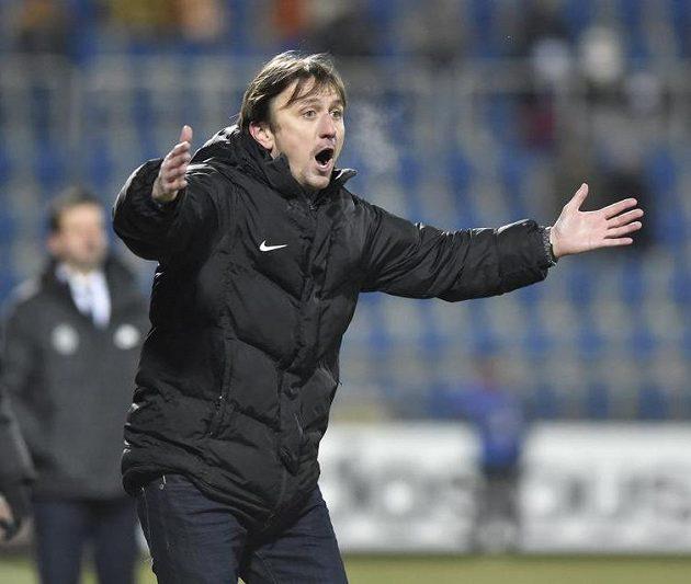 Trenér Slovácka Michal Kordula.