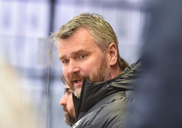 Trenér hokejového Kladna David Čermák.