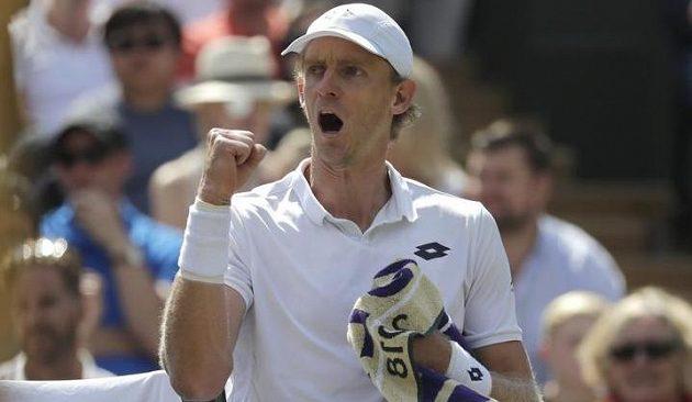 Jihoafričan Kevin Anderson se postaral o jednu z největších senzací ve Wimbledonu. Vyhrál nad Švýcarem Rogerem Federerem.