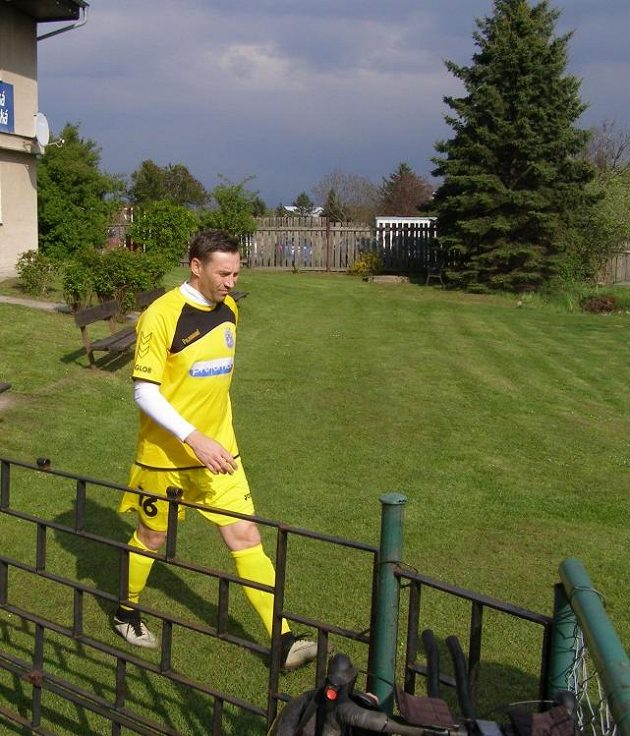 Jan Šimák nastupuje k prvnímu utkání v dresu Horního Jiřetína.