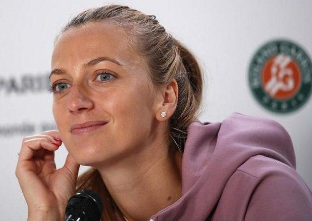 Tenistka Petra Kvitová vzdala letošní start na Roland Garros.