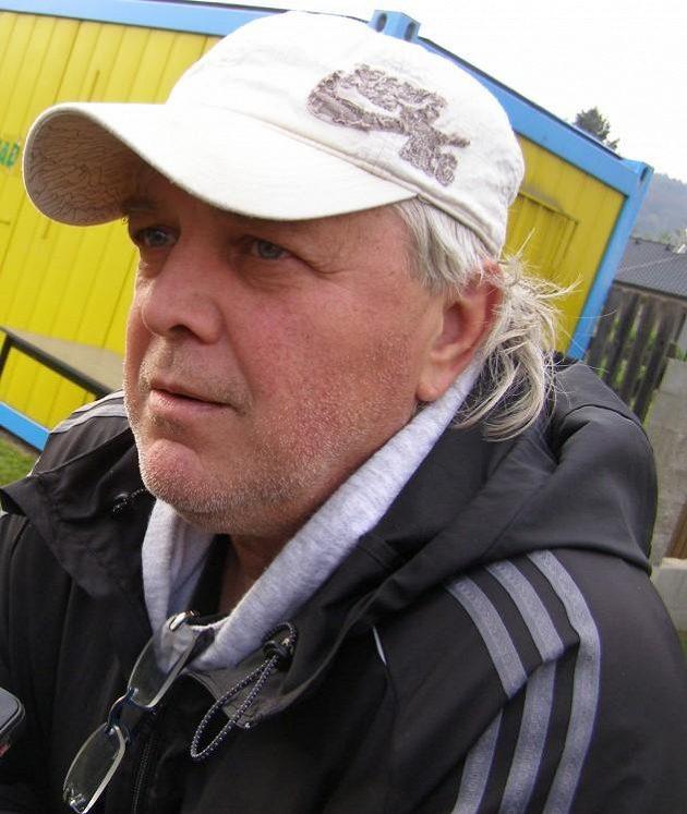 Pavel Chaloupka, hlavní trenér Horního Jiřetína.