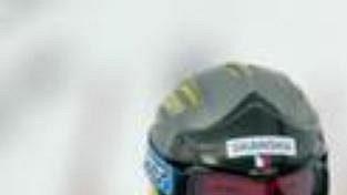 Češka Šárka Záhrobská při slalomu v závodě Světového poháru v americkém Park City.