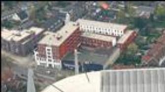 Stánek fotbalistů Eindhovenu Phillips stadion