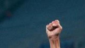 Libor Sionko se takto radoval zprvního gólu vsíti Lazia