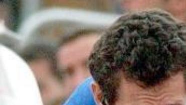 Roberto Heras vdresu týmu U.S.Postal na snímku zroku 2004.