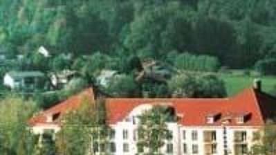 Hotel, kde bude přebývat česká reprezentace.
