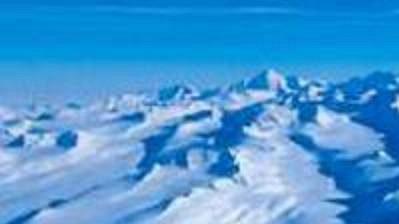 Masiv Mount Vinson v Antarktidě. Nejvyšší hora kontinentu měří 5140 m.