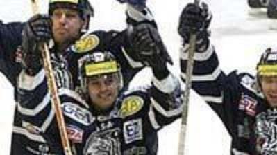 Slavící hokejisté Liberce