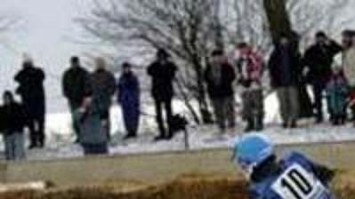 Líté boje na ledové ploché dráze (ilustrační foto).