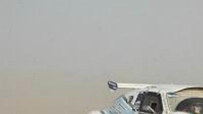 Petr Jerie na trati Rallye Dakar.