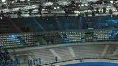 Stadión Palavela bude centrem krasobruslařů a rychlobruslařů na krátké dráze.