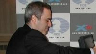 Ruský šachista Garry Kasparov