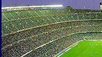 Said Kaddáfí koupil pro svůj tým přátelský zápas sBarcelonou na Nou Campu.