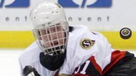 Martin Prusek inkasoval jednou a pomohl Ottawě kvítězství nad Torontem.