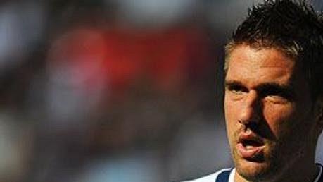 Chorvatský fotbalový útočník Ivan Klasnič hraje Premier League za Bolton.
