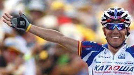 Španělský cyklista Joaquím Rodríguez.