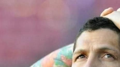 """Obránce milánského Interu Marco Materazii se brání: Schweinsteigera jsem neurážel, jen jsem mu řekl, že by měl méně mluvit."""""""
