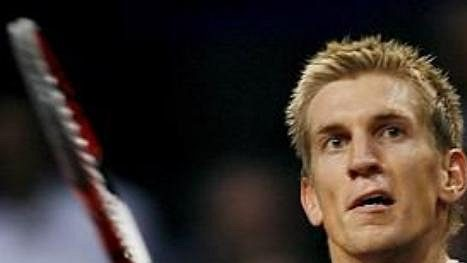 Finský tenista Jarkko Nieminen.