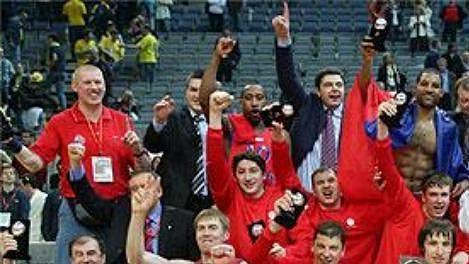 CSKA Moskva - vítěz Final Four v Praze.