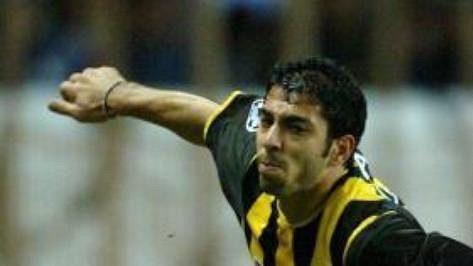 Janakis Okkas ještě v dresu AEK Atény.