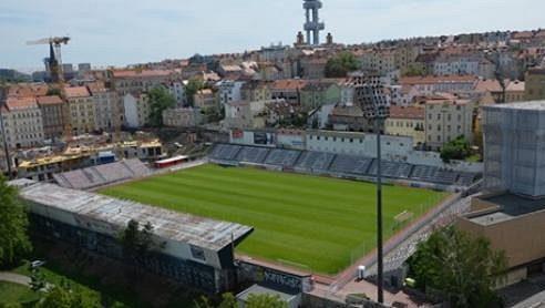Osud stadionu Viktorie Žižkov je stále nejistý