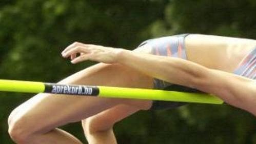Výškařka Zuzana Hlavoňová zvítězila výkonem 192 centimetrů.