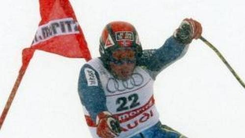Nor Lasse Kjus na archivním snímku