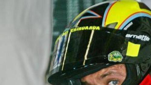 Ital Valentino Rossi byl nejrychlejším mužem první kvalifikace ve třídě MotoGP.