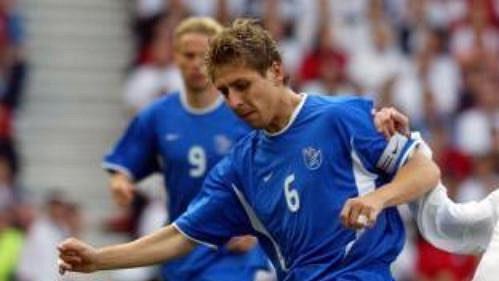 Steven Gerrard (vpravo) na archivním snímku