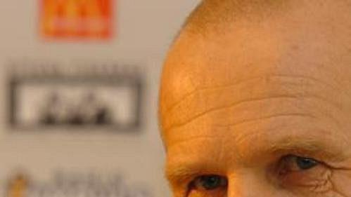 Trenér české reprezentace do 19 let Jaroslav Hřebík