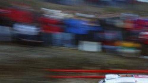 Sébastien Loeb za volantem vozu Citroën Xsara WRC