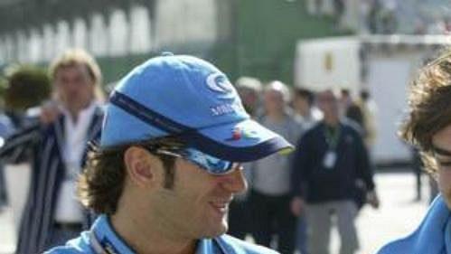 Pilot formule 1 Fernando Alonso (vpravo).