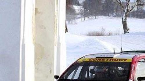 Jan Kopecký svozem Škoda Fabia WRC