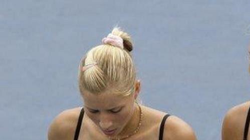 Ukrajinské tenistky Aljona (vlevo) a Kateryna Bondarenkovy