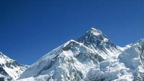 Mt. Everest (8848 m).