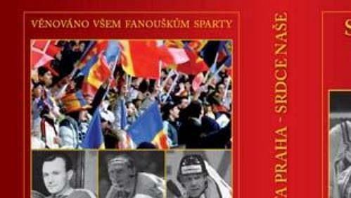 Obálka knihy o hokejové Spartě