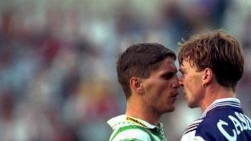 Vídeňské derby bývá vždy plné emocí.