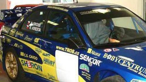 Subaru Impreza WRC Romana Kresty.