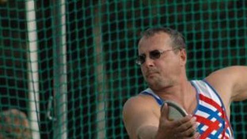 Rostislav Pohlmann vybojoval v disku stříbro.