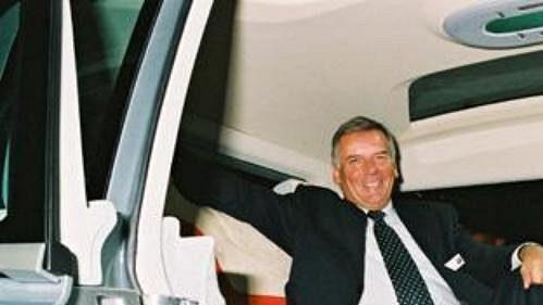 Předseda představenstva Škoda Auto Vratislav Kulhánek při světové premiéře studie Škoda Roomster
