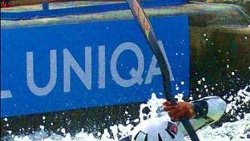 Kvalifikace kategorie K1 na mistrovství světa ve vodním slalomu na umělém kanále v Praze - Tróji.