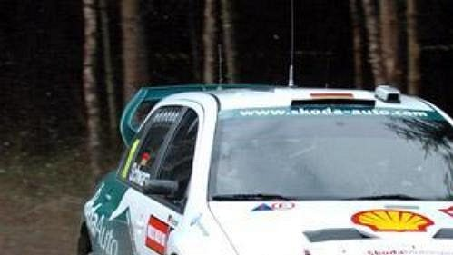 Armin Schwarz vúvodu Britské rallye.
