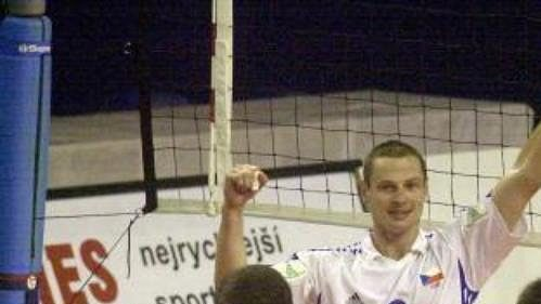 Čeští volejbalisté porazili Řecko a radují se zpostupu.